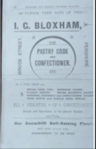Bloxham Advert Archives