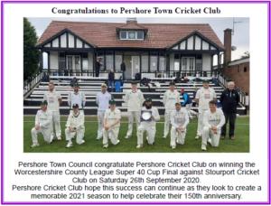Cricket Club Article