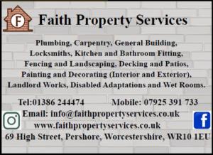 Faith Property Services Advert