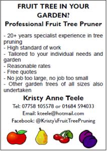 Fruit Pruning Advert