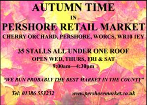 Pershore Market Advert
