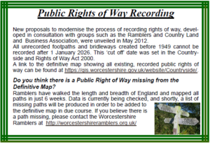 Public Rights Of Way Article