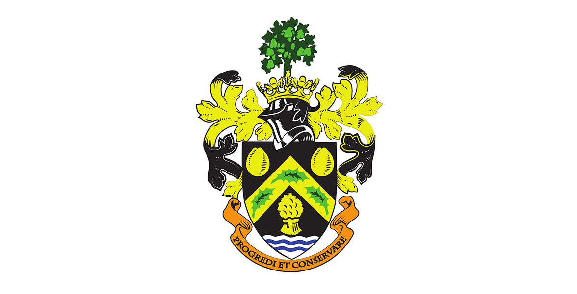 Pershore Town Council Coat Of Arms 1176x600