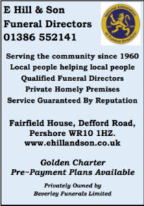E Hill Advert